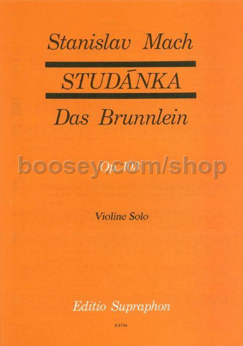Mach, Stanislav - Fountain Op  103 (30 Folk Songs) Violin Solo