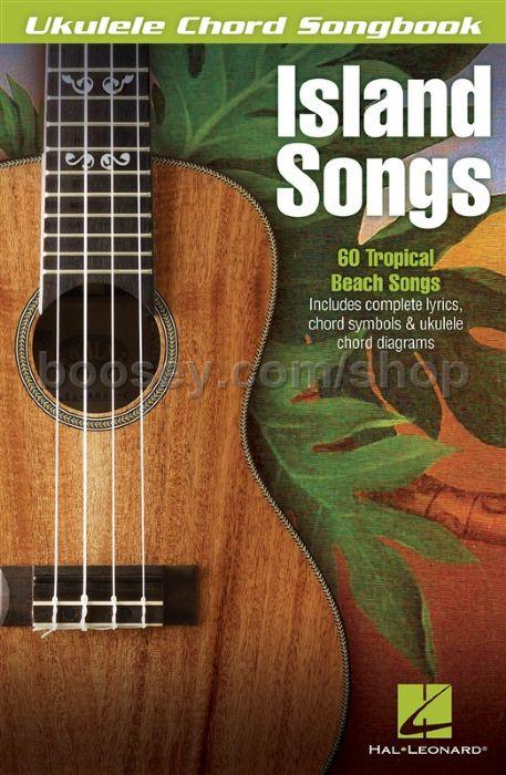 Various Ukulele Chord Songbook Island Songs