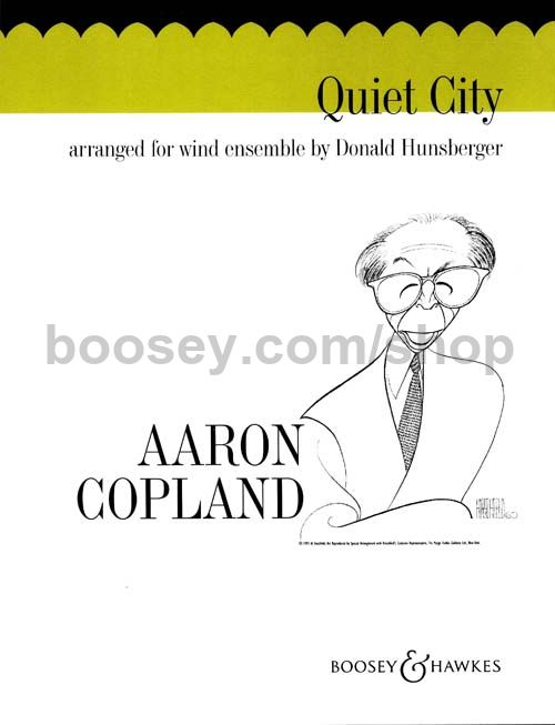 Aaron Copland Emblems Aaron Copland Quiet City