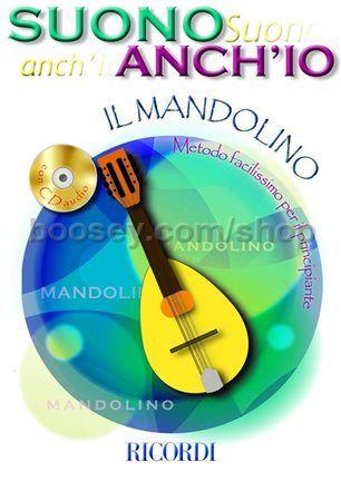 Anonimo - Suono Anch'Io: Il Mandolino (Mandolin) (Book & CD)