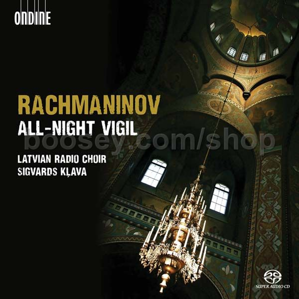 sergei rachmaninoff all night vigil op 37 ondine sacd super audio cd. Black Bedroom Furniture Sets. Home Design Ideas