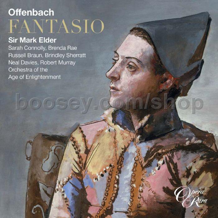 Offenbach jacques fantasio opera rara audio cd x2 for Hs offenbach