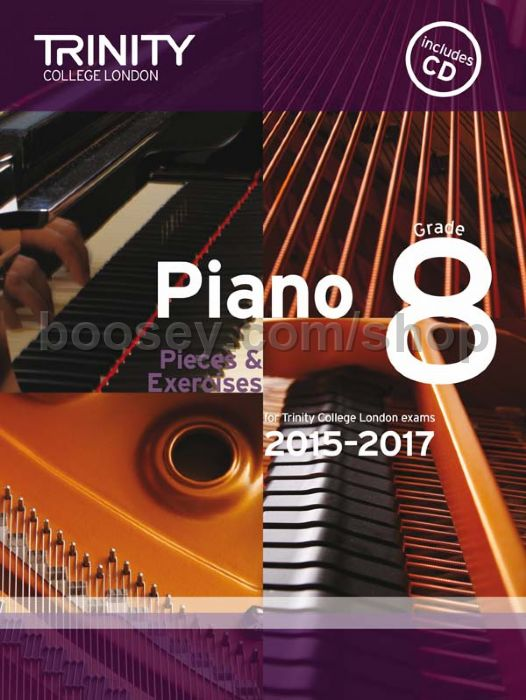 Piano Exam Pieces & Exercises 2015-2017, Grade 8 - Trinity College ...