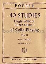 High School Op. 73 Cello
