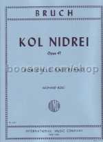 Kol Nidrei Op. 47 Cello
