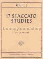 Staccato Studies Clarinet