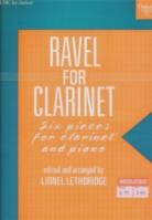 Ravel For Clarinet Ed. LetHardbackridge