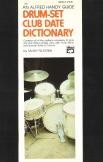 Alfred Handy Guide Drum-Set Club Date Dictionary