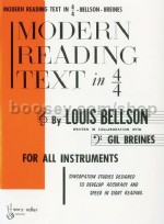 Modern Reading Text In 4/4 For Drums/Percussion (& other instruments)