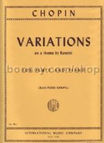Variations on a Theme By Rossini Flute & Piano
