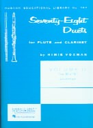 78 Duets For Flute & Clarinet (vol.2)
