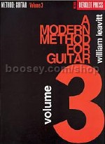 Modern Method for Guitar, Vol. 3