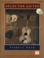 Solos For guitar Hand (Book & CD)