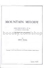 Mountain Melody for horn in Eb