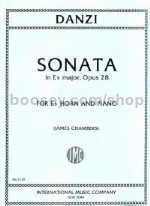 Sonata In Eb Op. 28 Horn & Piano