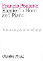 Élégie for horn in F & piano