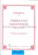 Theme & Variations Op. 13