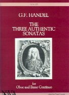 3 Authentic Sonatas for Oboe