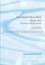 Easy Modern Organ Music Bks 1 & 2 Combined