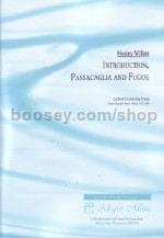 Introduction Passacaglia & Fugue Ed Sanger