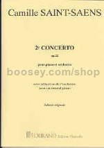 Piano Concerto No. 2 in G minor, op. 22 - piano solo & reduction