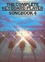 Complete Keyboard Player Songbook 4 (Complete Keyboard Player series)