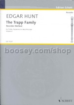 Trapp Family Recorder Method Book 2 Treb/sop/bass