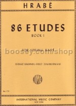 86 Studies Book 1 Double Bass