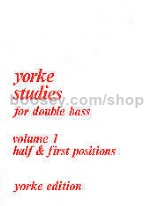 Yorke Studies for Double Bass, Vol. 1