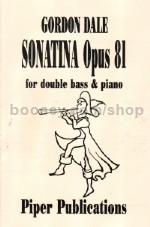 Sonatina Op. 81 For Double Bass & Piano