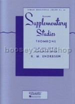 Supplementary Studies for Trombone (bass clef)