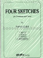 Four Sketches for Trombone and Piano