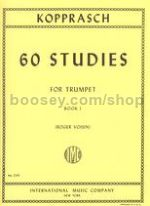60 Studies for Trumpet, Vol.1