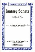 Fantasy Sonata for viola & harp