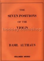 Seven Positions Of The Violin