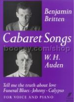 Cabaret Songs for Medium Voice & Piano