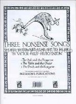 Three Nonsense Songs