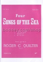 Four Songs Of The Sea Op. 1 - Hig Voices