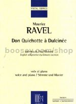 Don Quichotte à Dulcinée (vocal score)