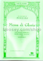 Messe di Gloria (vocal score)