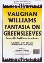 Fantasia On Greensleeves for amateur orchestra (score & parts)