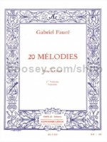 20 Melodies Vol. 1 (Soprano)