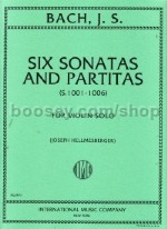 Six Sonatas & Partitas for Solo Violin