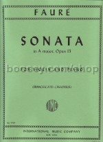 Violin Sonata A major Op. 13