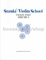 Suzuki Violin School Vol.8
