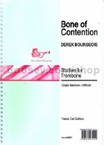 Bone of Contention, Op. 112 for trombone (treble clef)