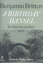 A Birthday Hansel Op.92