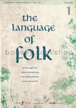 The Language of Folk Book 1 (Book & CD)