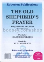 The Old Shepherd's Prayer (key: Dm)