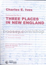 3 Places In New England Score (octavo)